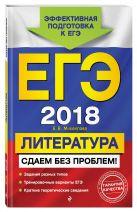 Михайлова Е.В. - ЕГЭ-2018. Литература. Сдаем без проблем!' обложка книги
