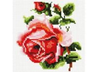 Мозаика на подрамнике. Изящная роза (350-ST-S)