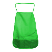Фартук д/труда однотонный 49х39 см  ткань зелен. 3+