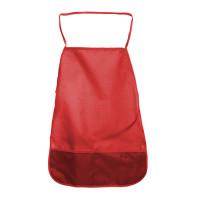 Фартук д/труда однотонный 49х39 см ткань красн. 3+