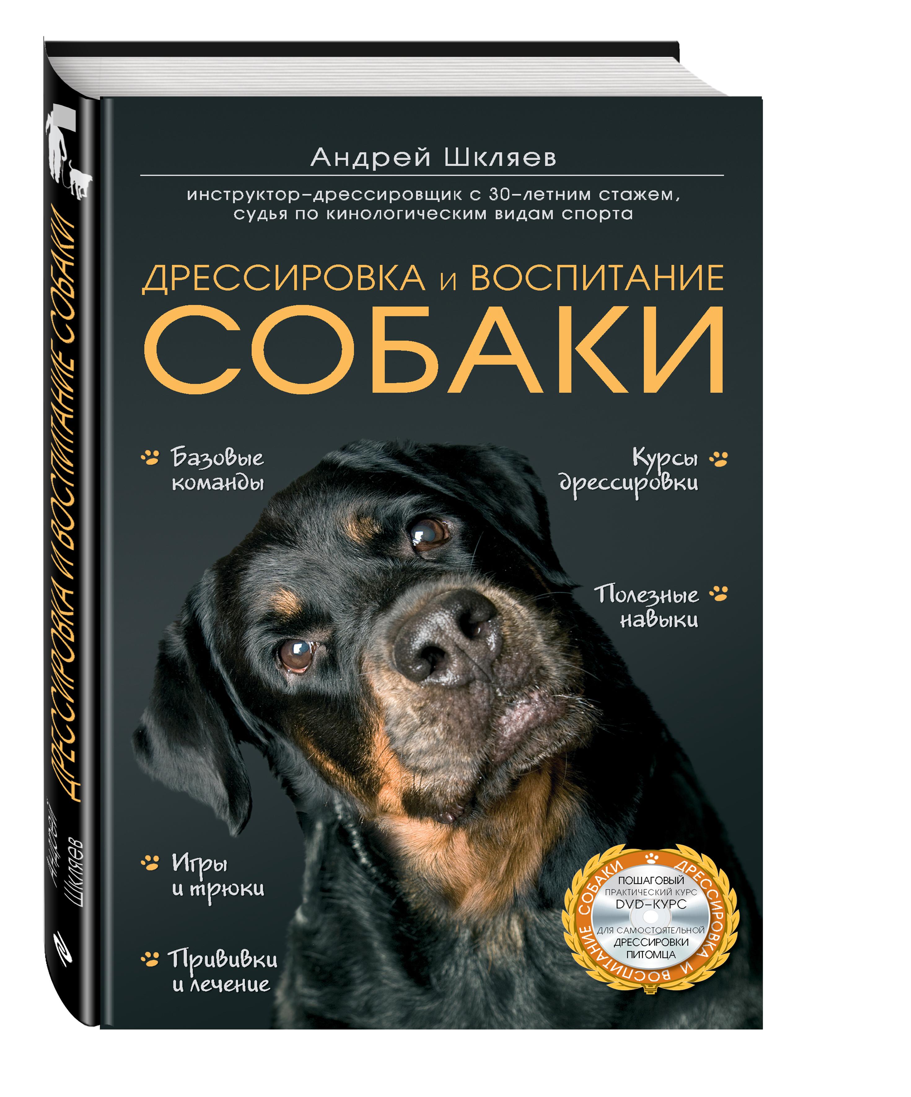 Дрессировка и воспитание собаки (+DVD) от book24.ru