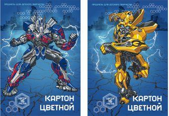 Карт цв д/дет тв 16цв 16л(2мет) Папка 198*290 TR148/2-EAC Transformers Prime