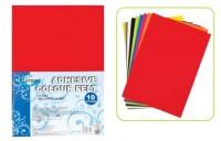 Набор декоративного цветного фетра на клеевой основе А4, для детского творчества (аппликации), толщина 2,0 мм, формат А4, 10 цветов 87719