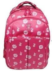 Рюкзак для подростокв (розовый)Размер 44,5*32*14* см, боковые карманы ,внешний карман для телефона и мелочей, материал шелкография+нейлон,ручка-петля