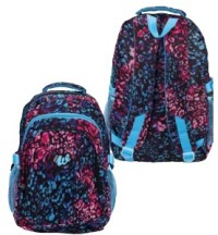 Рюкзак спортивный молодежный. Размер 47*33* см, боковые карманы ,внешний карман для телефона и мелочей, материал печатный ПВХ+нейлон 87746