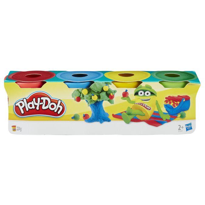 PLAY-DOH - Play-Doh Набор из 4  МИНИ баночек  (23241) обложка книги
