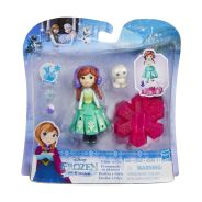 DISNEY FROZEN Маленькая кукла Холодное Сердце на движущейся платформе-снежинке (B9249)