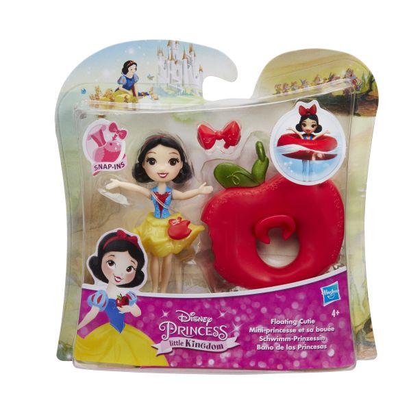 DISNEY PRINCESS Маленькая кукла принцесса, плавающая на круге в ассорт. (B8966) DISNEY PRINCESS