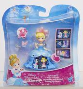 DISNEY PRINCESS Маленькая кукла Принцесса в платье с волшебной юбкой в ассорт. (B8962)