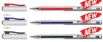 Гелевая ручка True Gel, в карт. коробке, 10 шт., 0,7 мм., розовый