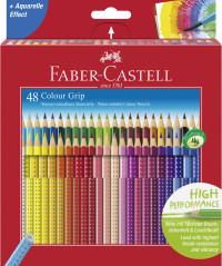 Цветные карандаши GRIP 2001, в подарочной картонной коробке, 48 шт., 2 слоя по 24 карандаша