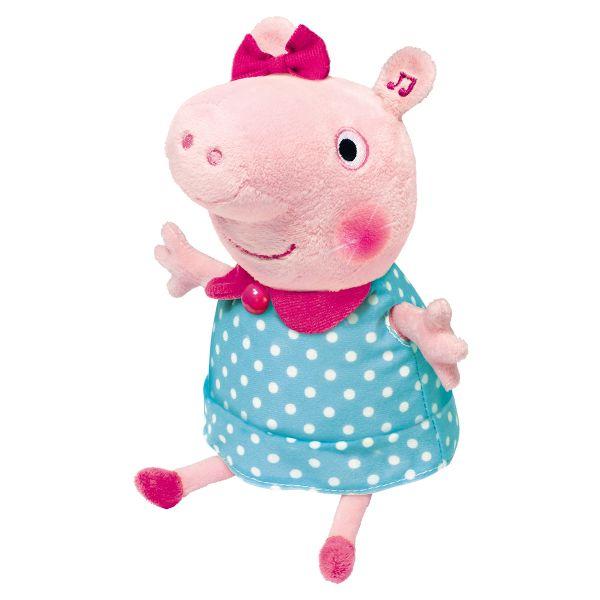 Мяг.игр. Пеппа,30 см,движение,свет,звук,ТМ PEPPA Peppa Pig