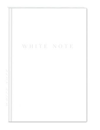 White Note. Стильный блокнот с белоснежными страницами