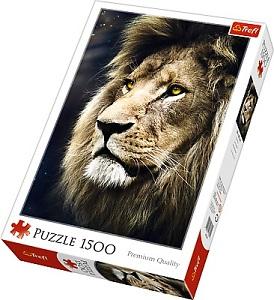 Пазл 1500 дет. - Портрет льва