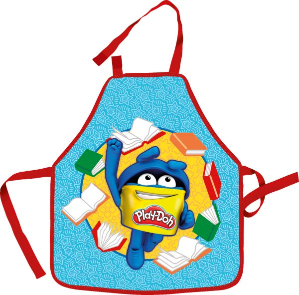 Фартук. Предназначен для творческих занятий. Набор: фартук, нарукавники.Размер: 51 х 44 см (фартук), 11 х 25 см (нарукавники). Play Doh