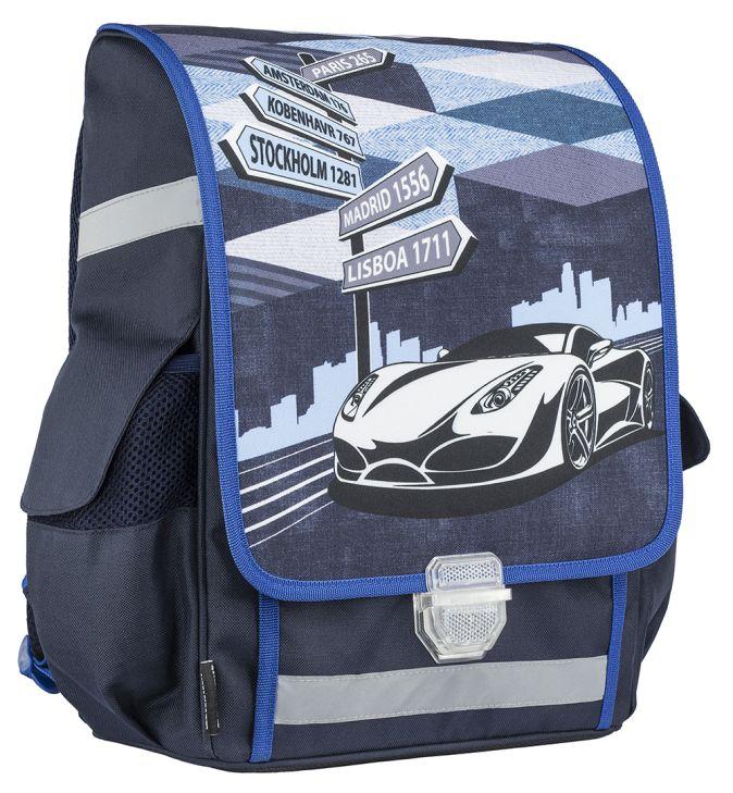 Ранец (рюкзак) профилактический с эргономической спинкой. Внутри подарок - бутылочка для воды и ланчбокс. 37 х 29,5 х 15 см. Seventeen Kids