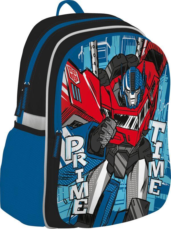 Рюкзак. Мягкая спинка. Размер: 43 х 30 х 13 см. Transformers Prime