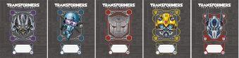 Тетр 12л скр А5 кл карт TR150/5-EAC ВД лак, тисн фольг Transformers Prime