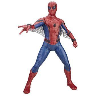 SPIDER-MAN - Spider Man Фигурка человека-паука со световыми и звуковыми эффектами (B9691) обложка книги