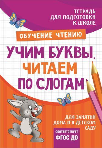 Лаптева С. А. - Подгот. к школе. Учим буквы. Читаем по слогам обложка книги