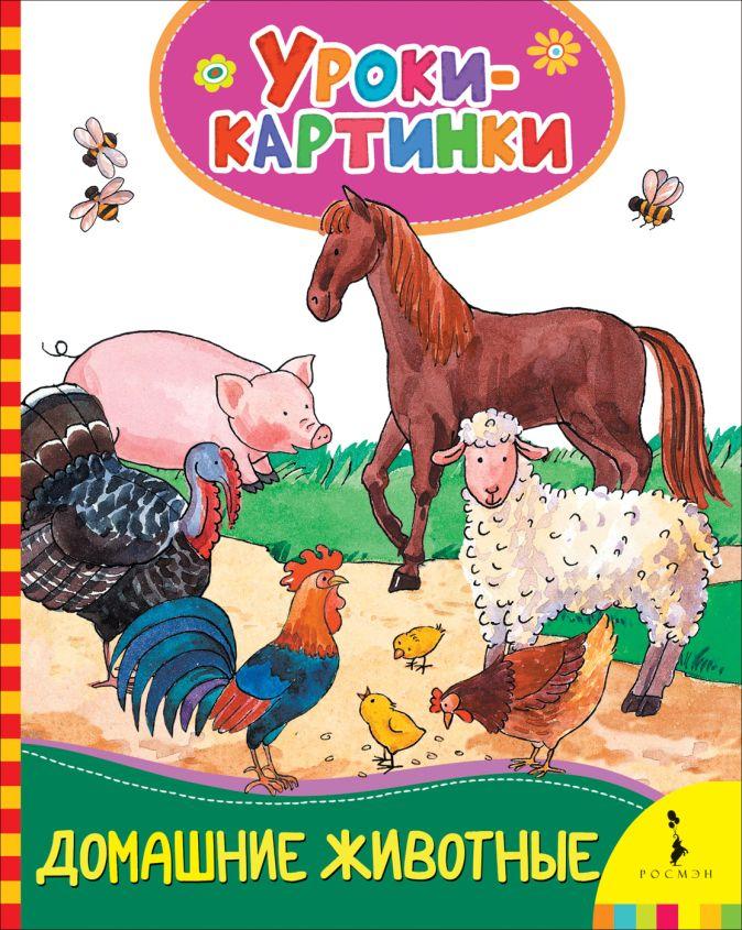 Домашние животные (Уроки-картинки) Мазанова Е. К.