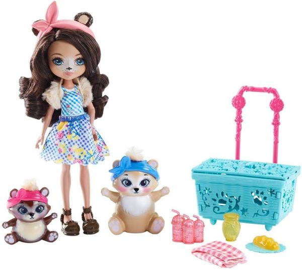 Канцтовар Enchantimals® Кукла со зверушкой и тематическим набором в ассорт. (Игровой набор)