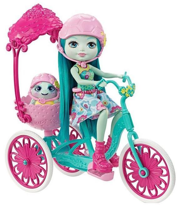 Enchantimals® Кукла со зверюшкой и транспортным средством в ассорт. (Игровой набор)