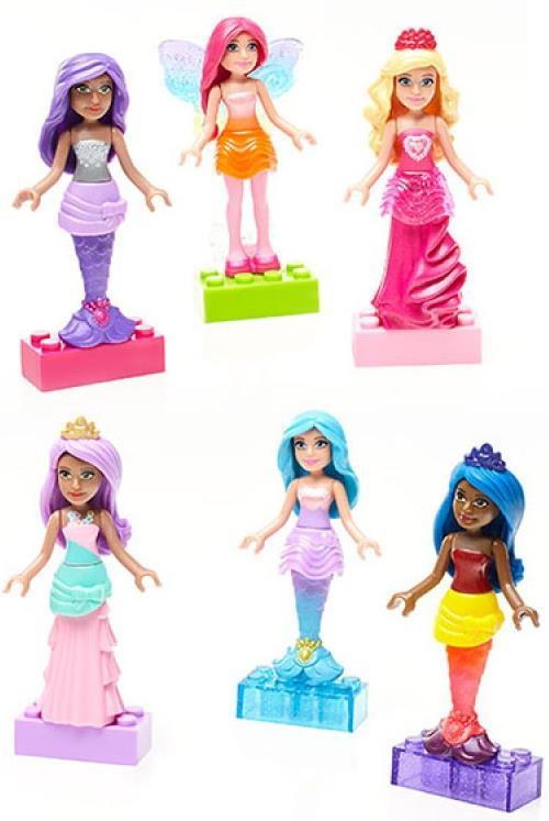 BARBIE - Барби: набор фигурок персонажей (Barbie) обложка книги