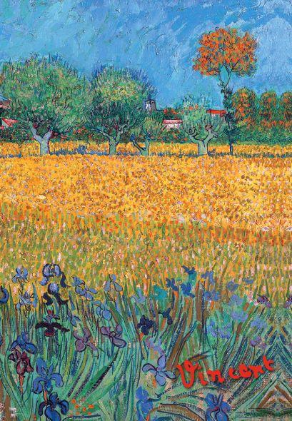 Обложка для паспорта «Ван Гог. Пшеничное поле» - фото 1