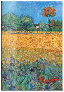 Обложка для паспорта. Ван Гог. Пшеничное поле (Арте)