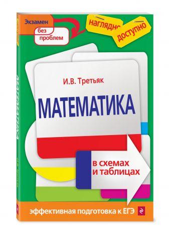 И. В. Третьяк - Математика в схемах и таблицах обложка книги