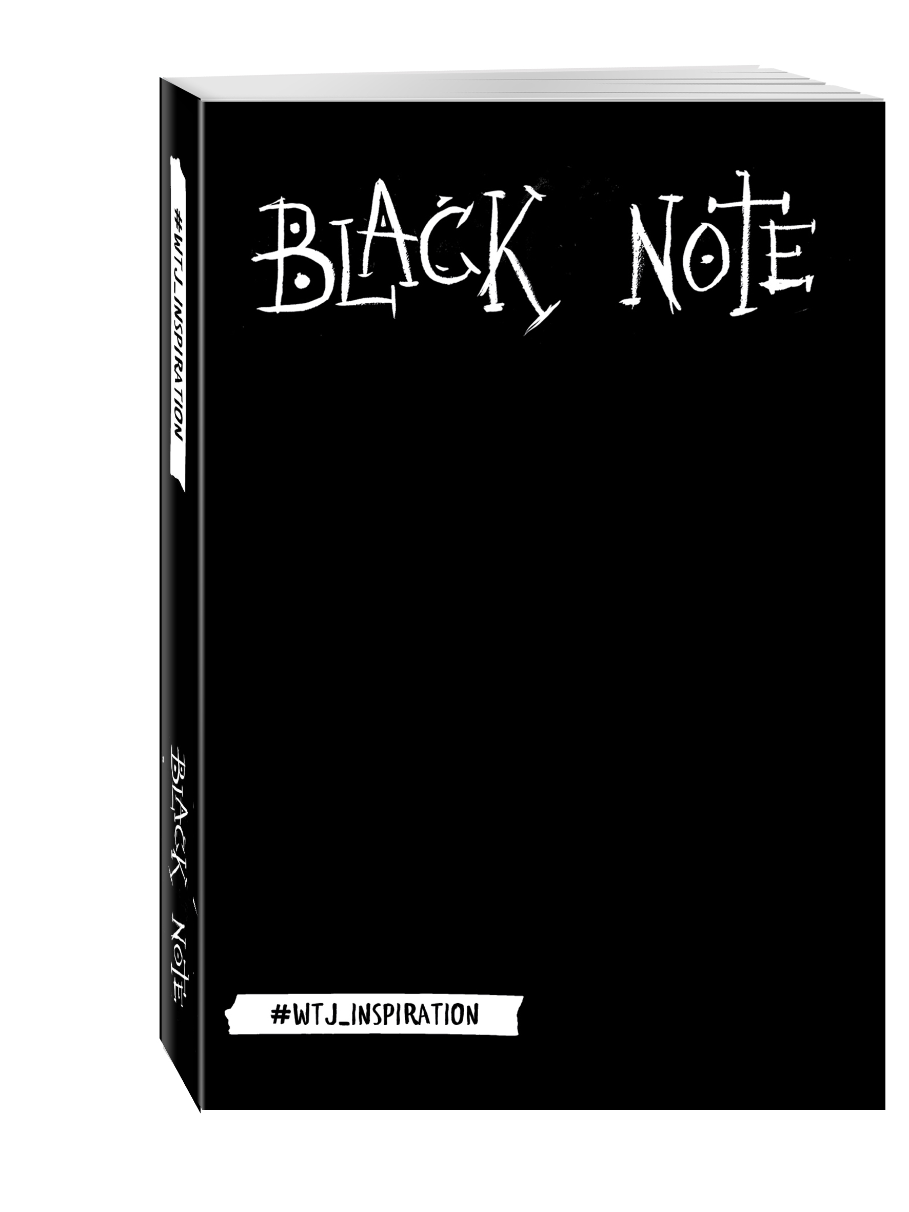 Комплект. Black Note. Креативный блокнот с черными страницами (мягкая обложка) + Комплект из 2-х белых ручек и белого карандаша WTJ_INSPIRATION silver note креативный блокнот с серебряными страницами мяг обл а5 192 стр