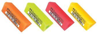 Ластик-манжетка, флуоресцентные цвета, в карт. коробке, 20 шт