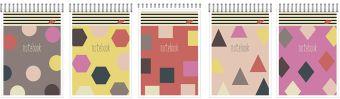 Бл 40л Wсп А6 кл  8450/5-EAC ВД лак Цветная геометрия