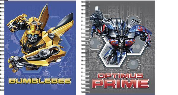 Записная книжка 24л скр А6 кл TR147/2-EAC твин УФ Transformers Prime