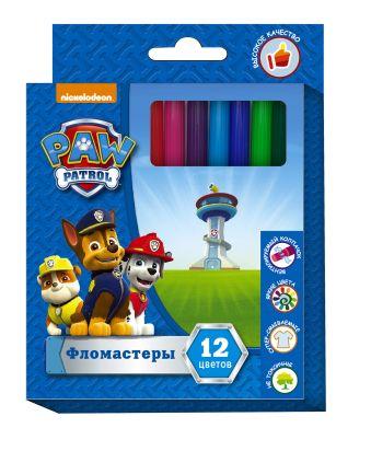 Фломастеры 12 цветов Paw Patrol