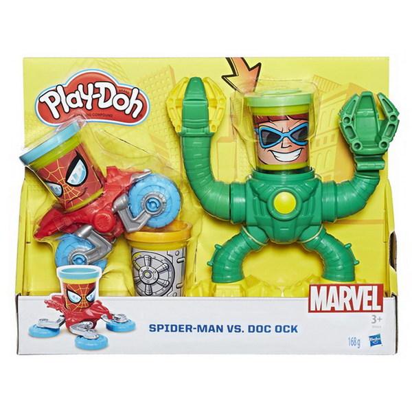 Play Doh - Игровой набор для лепки Play-Doh. Человек-Паук обложка книги