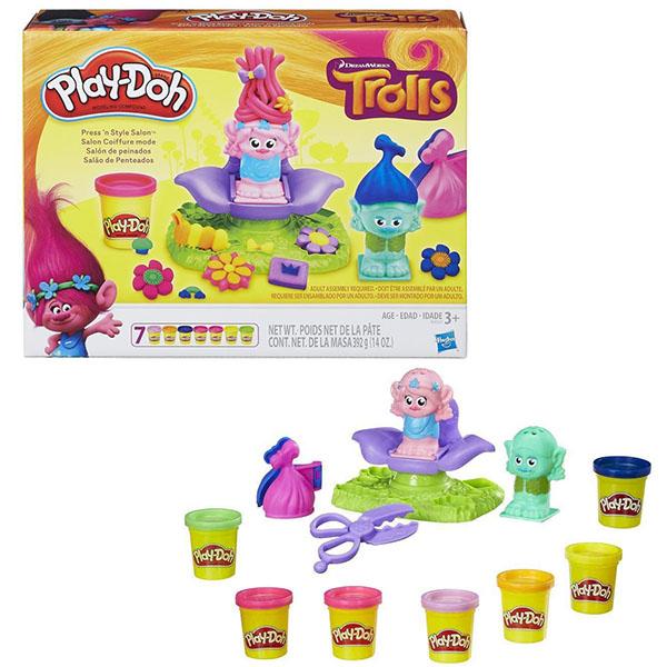 """Play Doh - Play-Doh Игровой набор """"Тролли"""" (B9027) обложка книги"""