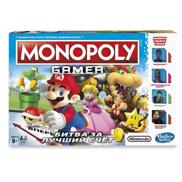 MONOPOLY - Монополия Геймер (C1815) обложка книги