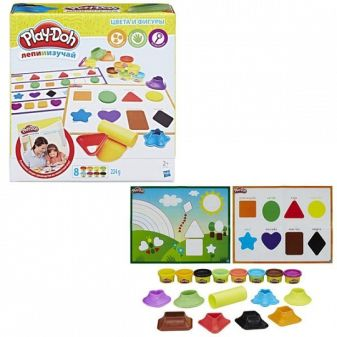 """PLAY-DOH - Play-Doh Игровой набор """"Цвета и формы"""" (B3404) обложка книги"""