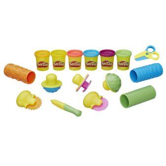 """PLAY-DOH - Play-Doh Игровой Набор """"Текстуры и инструменты"""" (B3408) обложка книги"""