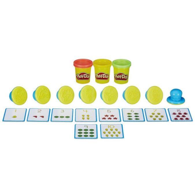 """PLAY-DOH - Play-Doh Игровой набор """"Цифры и числа"""" (B3406) обложка книги"""