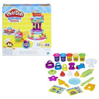 """PLAY-DOH - Play-Doh Игровой набор """"Для выпечки"""" (B9741) обложка книги"""