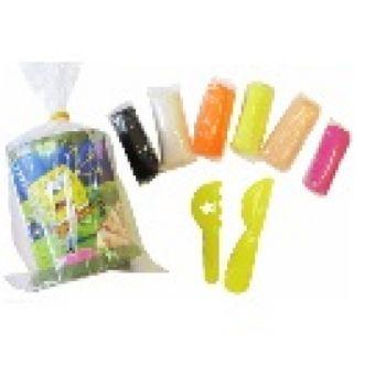 Тесто для лепки 6 цветов*20грамм, (тесто 6 цв.х 20 гр, формочки в пластиковом стаканчике) 88793