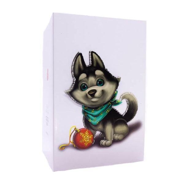 Набор Прямые Ручки для создания  объемной открытки (3D) Щенок и шар