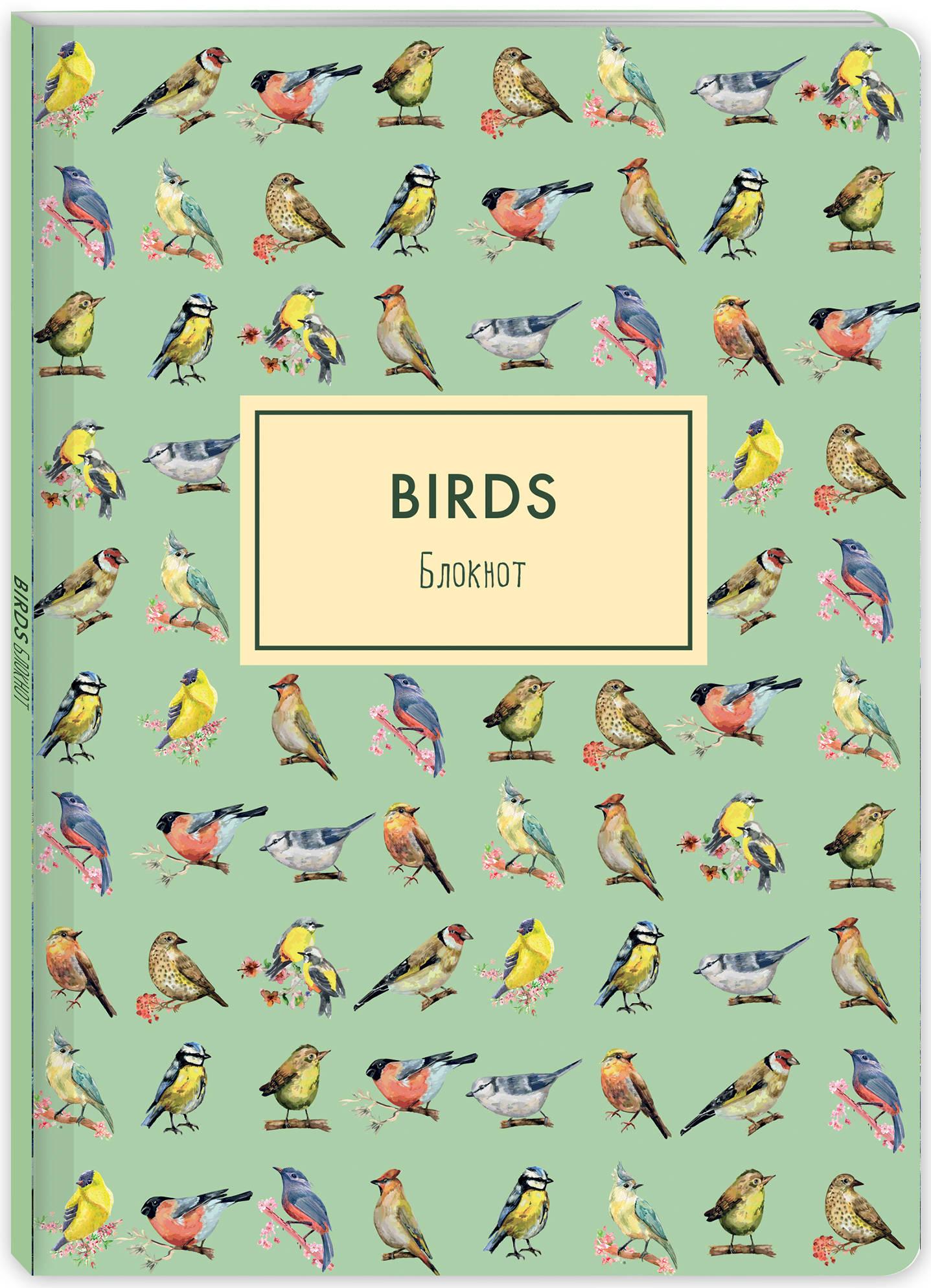 Блокнот. Birds (формат А4, мягкая обложка, круглые углы, блок в точку) (Арте) блокнот в пластиковой обложке mind ulness лаванда формат малый 64 страницы
