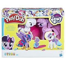 "Play-Doh Игровой набор ""Твайлайт и Рарити"" (B9717)"