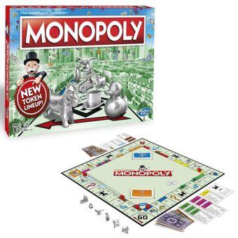 Классическая Монополия. Обновленная (C1009) MONOPOLY