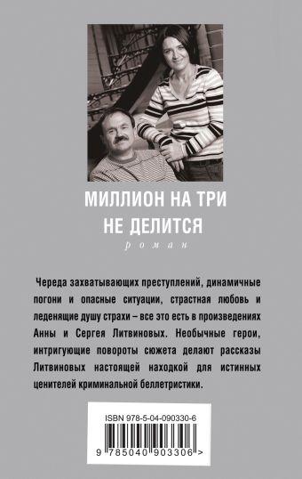 Миллион на три не делится Анна и Сергей Литвиновы