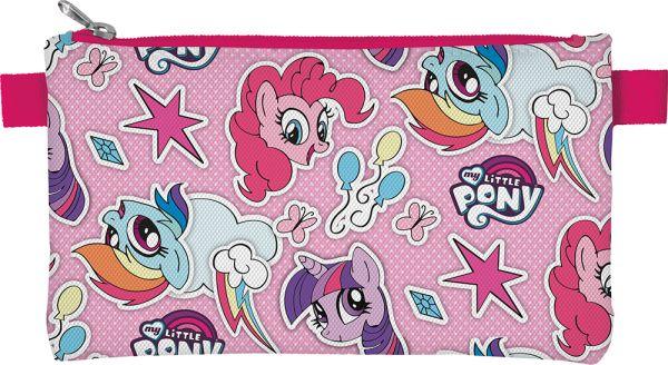 MPEB-MT2-455 Пенал. Прямоугольной формы, на молнии. Размер: 11,5 х 22 х 1 см. My Little Pony